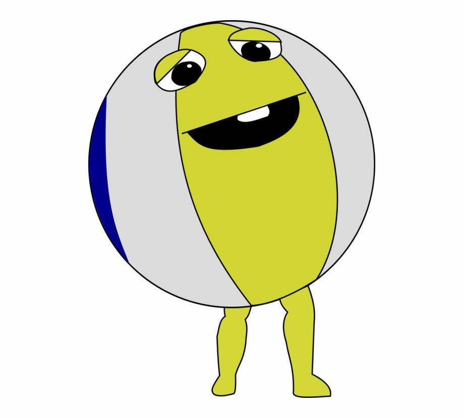 Beachball clipart animal. Beach ball with legs