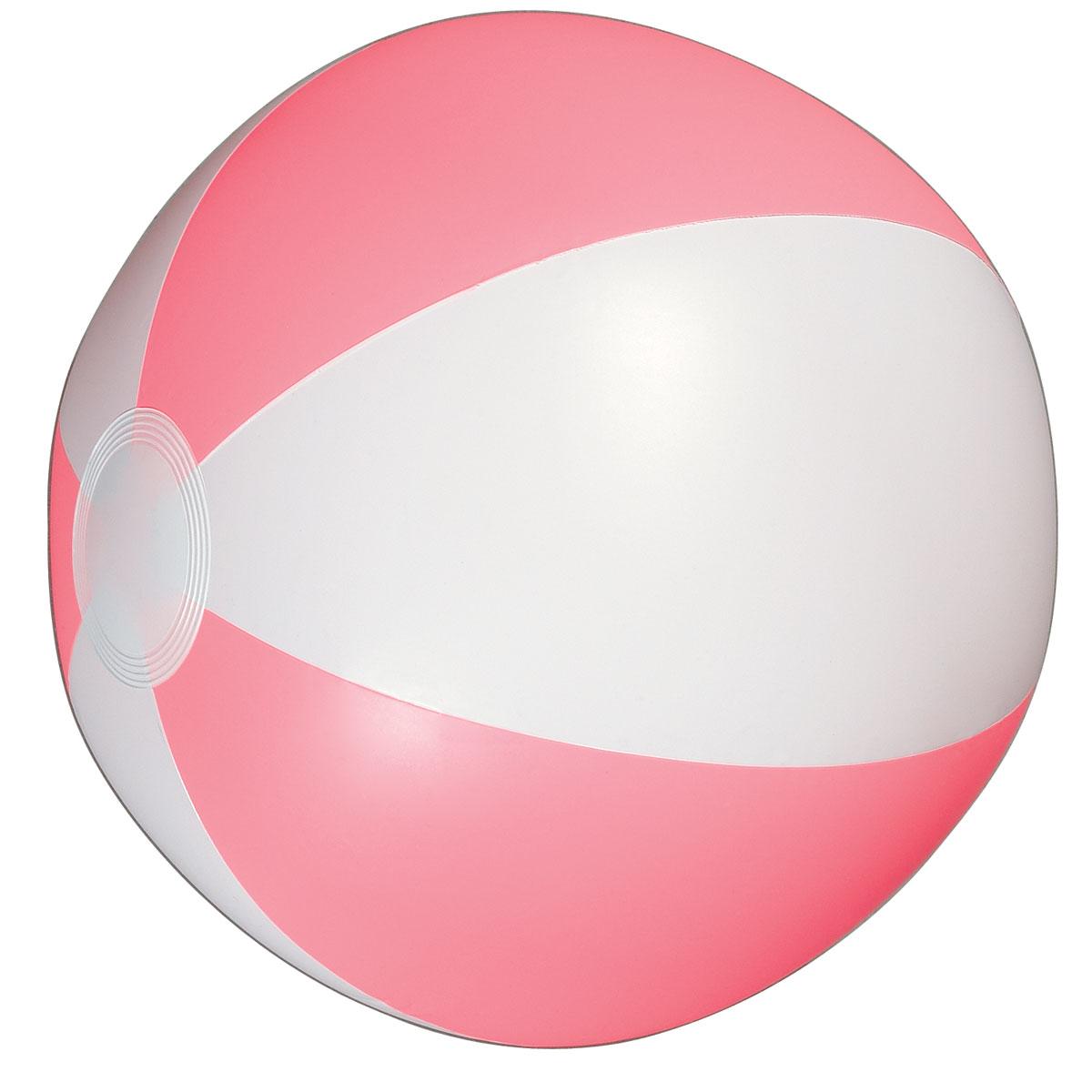 Pink beach ball . Beachball clipart bal