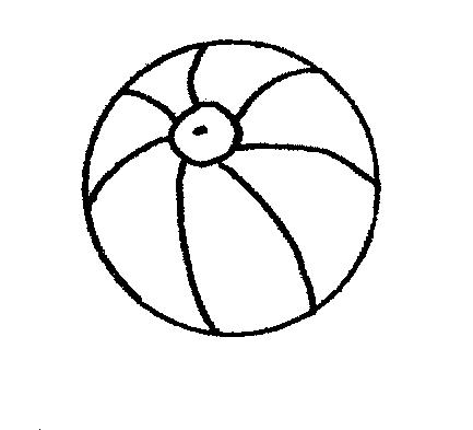 Beachball clipart balll. Umbrella black and white