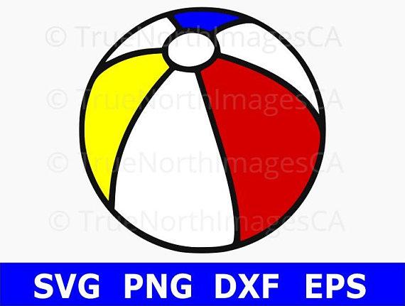 Beach ball svg vector. Beachball clipart balll