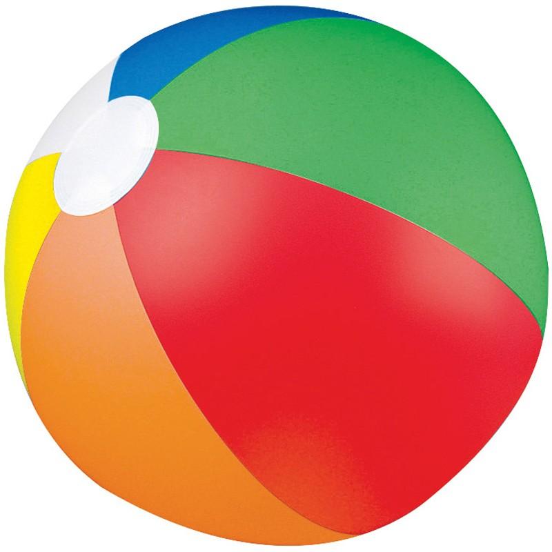 Beachball clipart beach accessory. Promotional ball multicolour printed