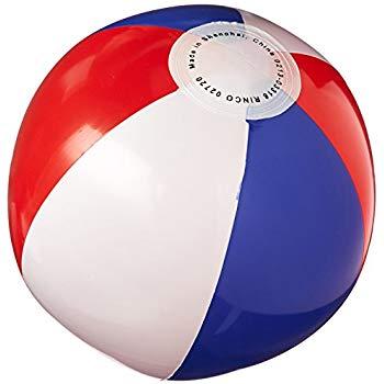 Beachball clipart beach ball. Amazon com red white