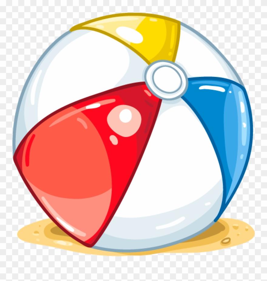 Detail ball itembrowser cartoon. Beachball clipart beach item