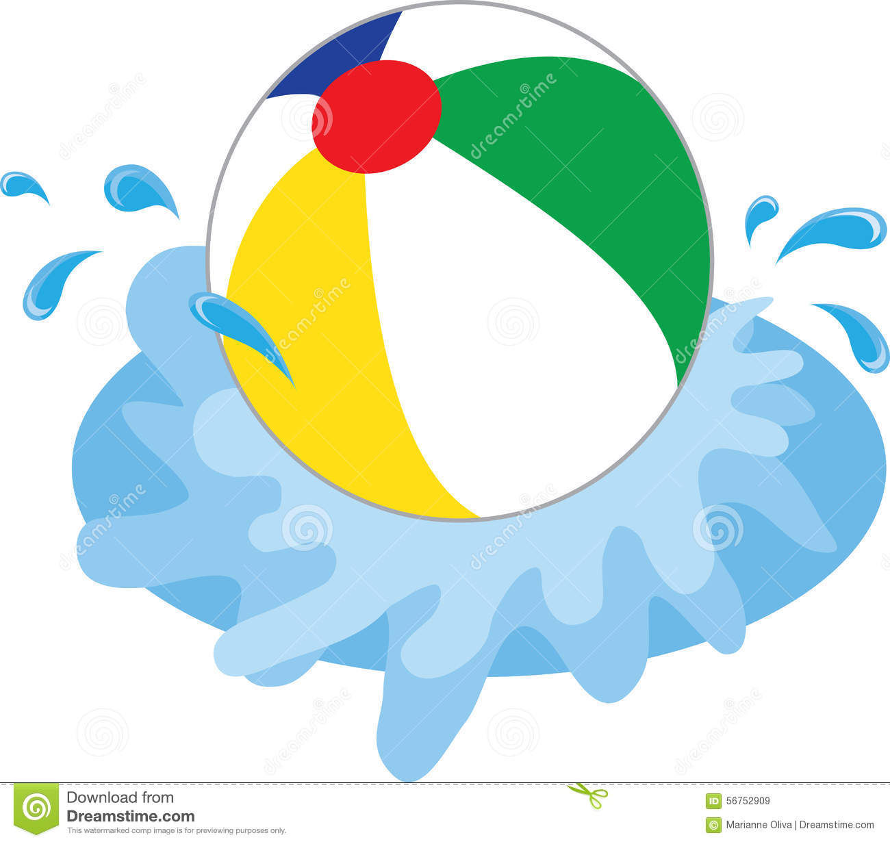 Beach pictures free download. Beachball clipart big ball