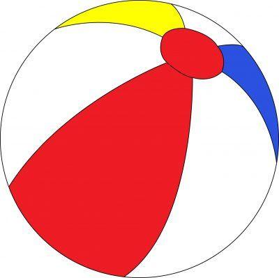 Beachball clipart big ball. Cool design beautiful beach