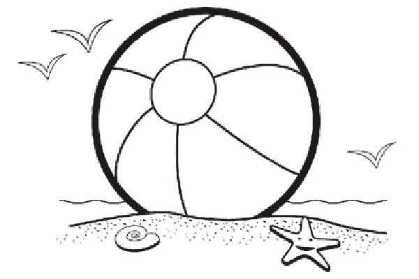 Beachball clipart boll. Beach ball breakfast on