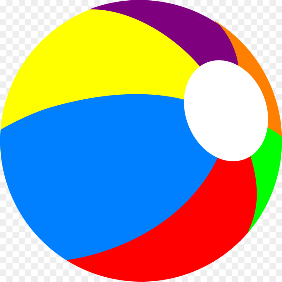 Beachball clipart boll. Beach ball circle transparent