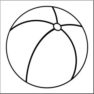 Clip art beach ball. Beachball clipart boll