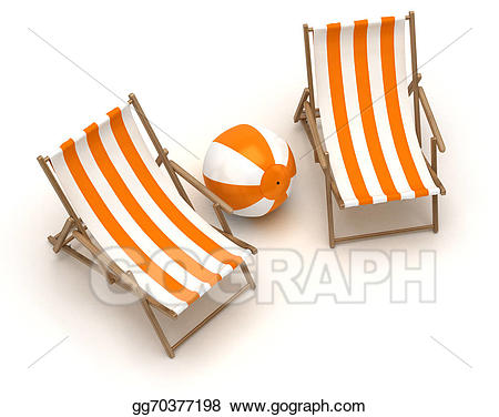 Beachball clipart chair. Drawing beach chairs and