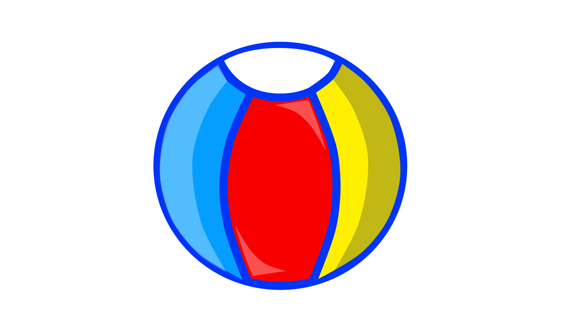 Beachball clipart circle object. Image beach ball new