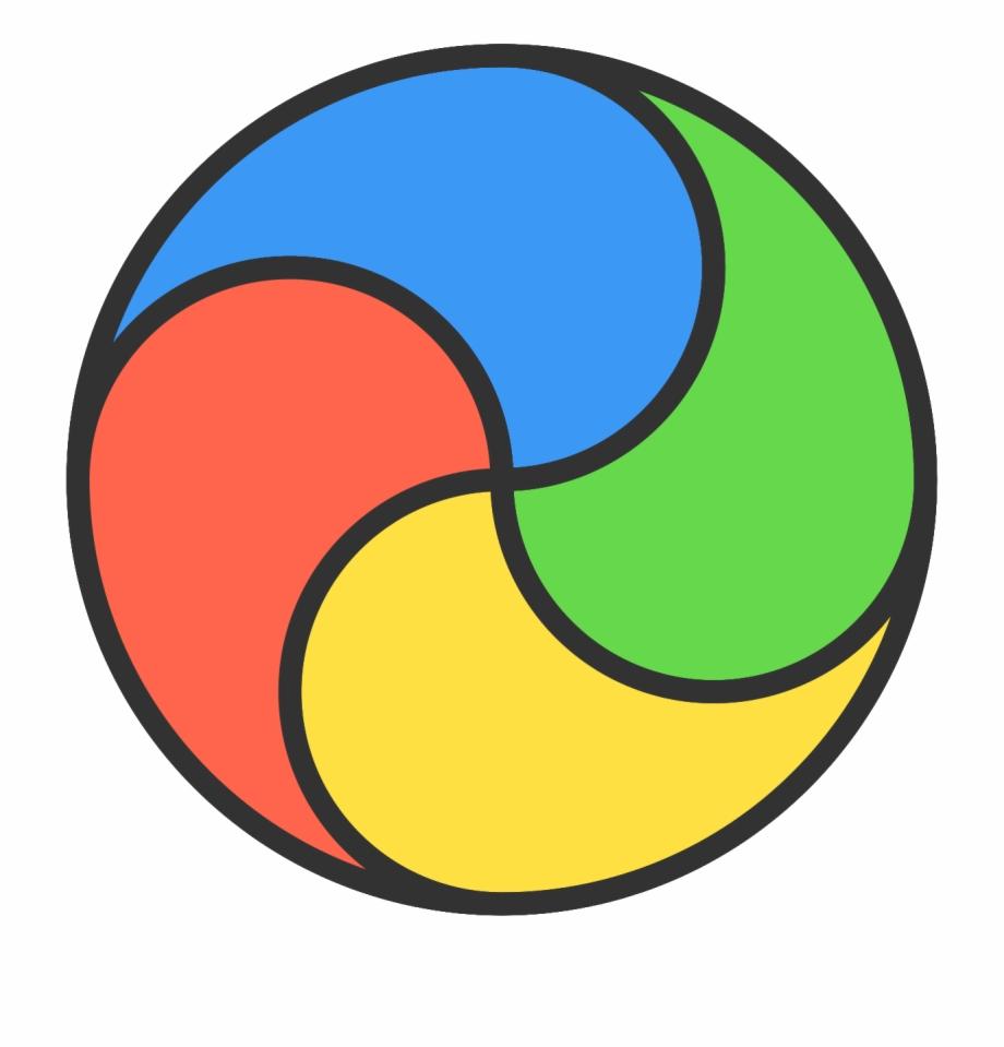 Beachball clipart circle thing. Pbs kids go transparent
