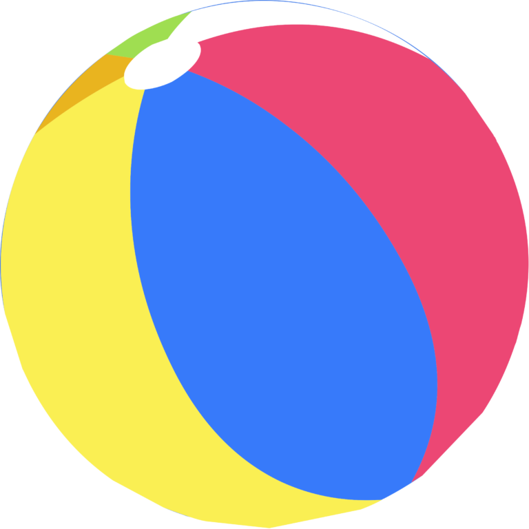 Beachball clipart circle thing. Beach ball clipartbarn
