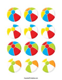 Beachball clipart circular object. Tip for making perfect