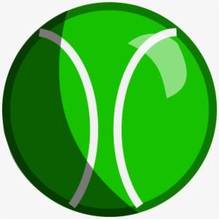 Tennis ball green inanimate. Beachball clipart circular object