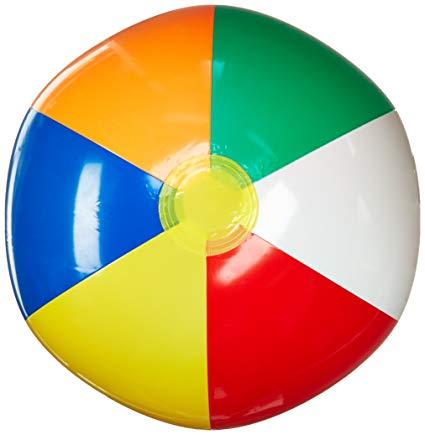 Beachball clipart color ball. Amazon com champion sports