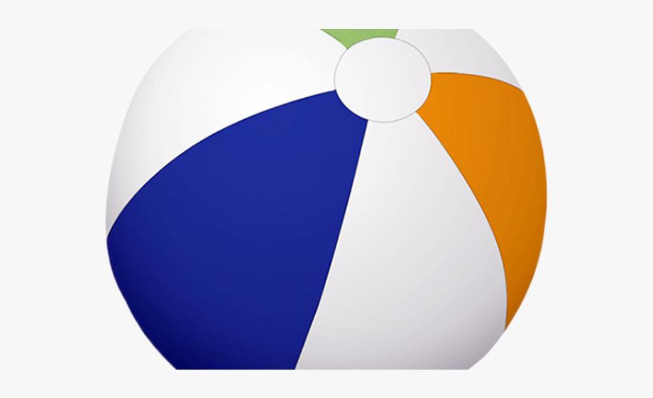 Beach circle cliparts . Beachball clipart colored ball