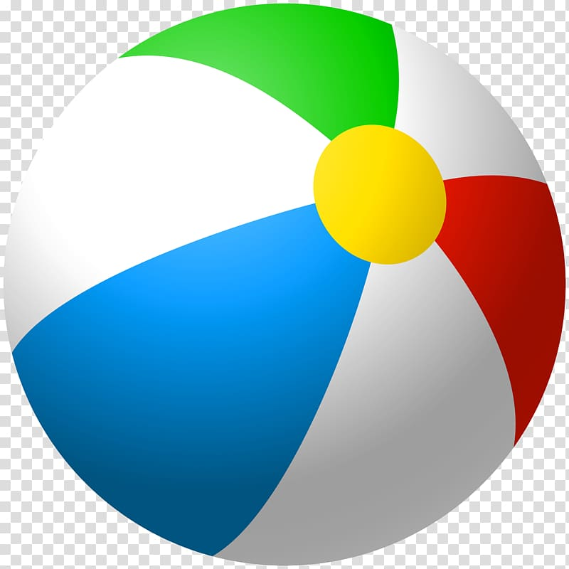 Beach graphics inflatable transparent. Beachball clipart colorful ball