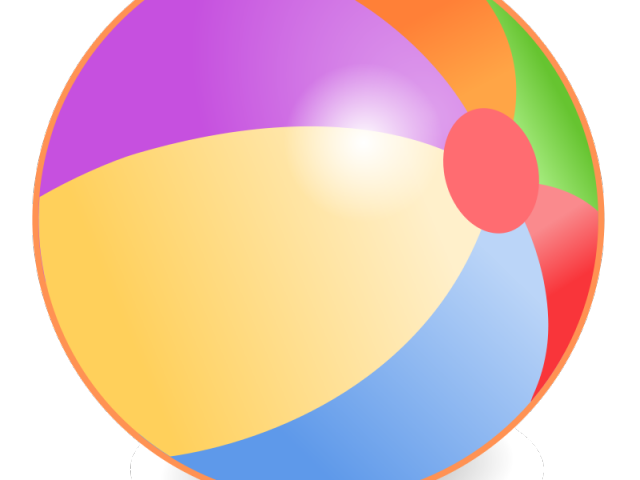 Beachball clipart colorful ball. Free beach download clip