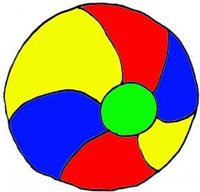 Beachball clipart colourful ball. Additional texas reading club