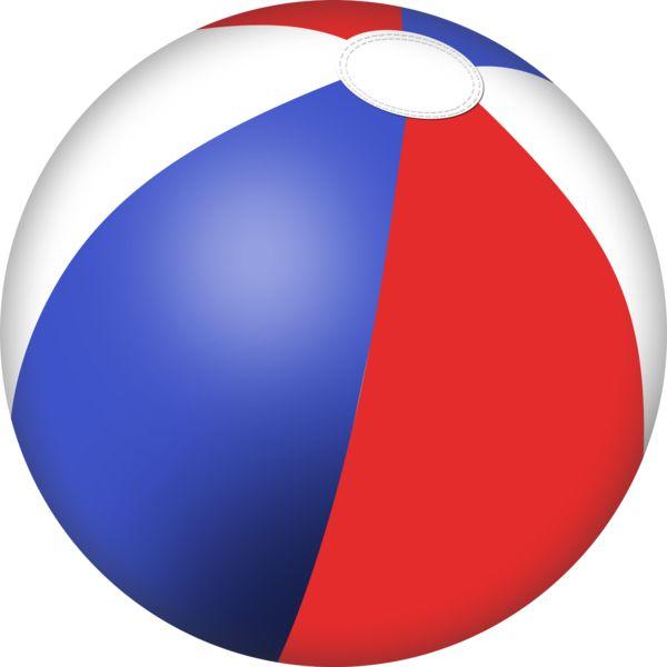 Beachball colourful ball