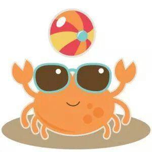beachball clipart cute