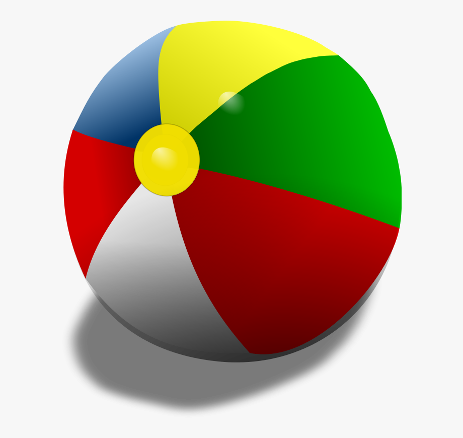 Beach ball gif transparent. Beachball clipart equipment