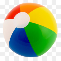 Beach png and psd. Beachball clipart light object