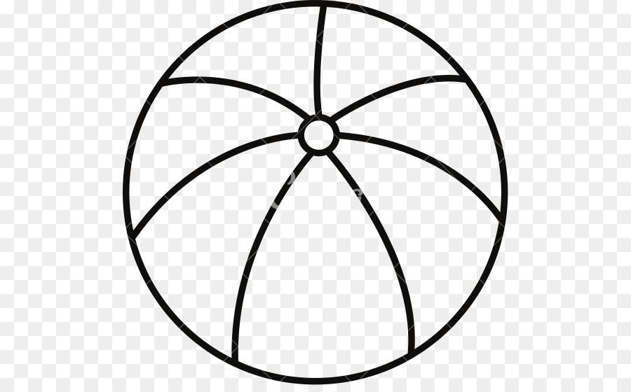Beachball clipart outline. Beach ball circle line
