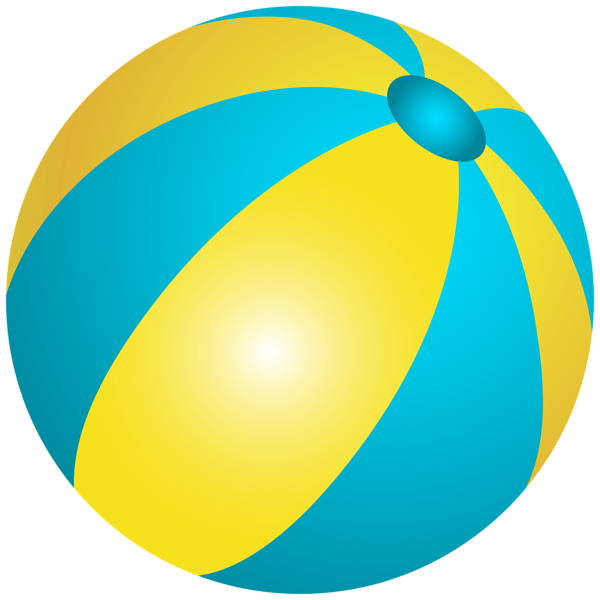 Beachball clipart plastic ball. Beach png clip art