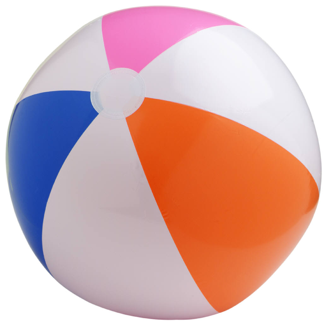Beachball clipart plastic ball. Beach png transparent free