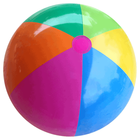 Beach png free images. Beachball clipart plastic ball