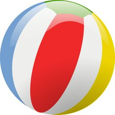 Beachball clipart pool party. Beach ball png vector
