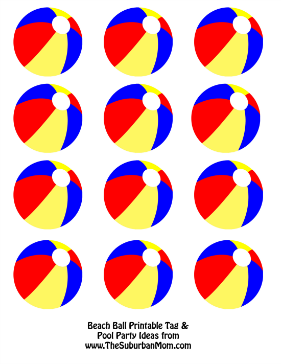 Beachball clipart pool party.  tips for your