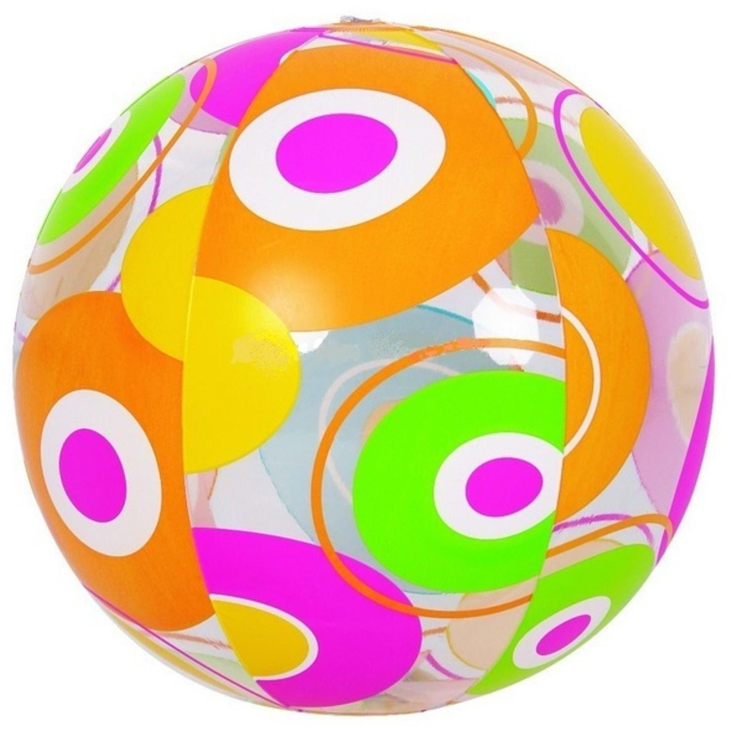 Jilong colorful panel circle. Beachball clipart pool toy