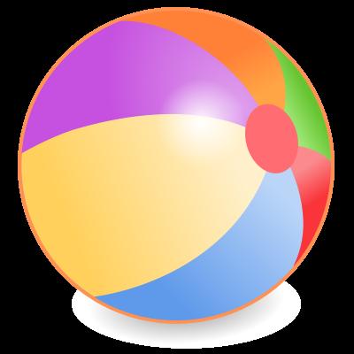 Beachball clipart rainbow. Beach ball clipartaz free