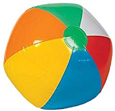 Updated end of year. Beachball clipart rainbow