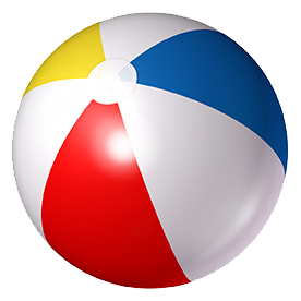 Download free png beach. Beachball clipart sphere object