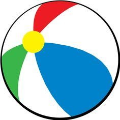Fun free google search. Beachball clipart summer