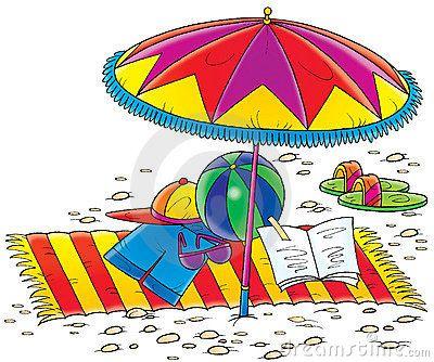 Beach clip art free. Beachball clipart sun umbrella