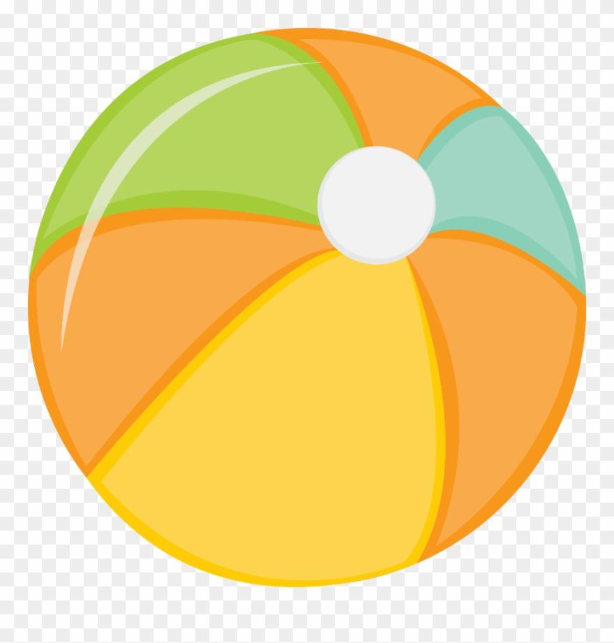 Beachball clipart swimming. Beach ball cubby tag