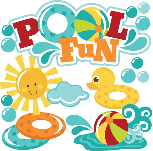 best pool images. Beachball clipart swimming