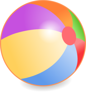 Beach ball clip art. Beachball clipart volleyball