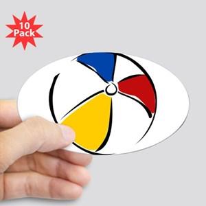Beachball clipart volleyball. Beach ball stickers cafepress