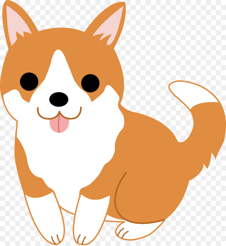 Pembroke welsh corgi cardigan. Beagle clipart adorable puppy