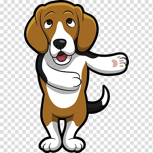 Dog breed companion vizsla. Beagle clipart adorable puppy