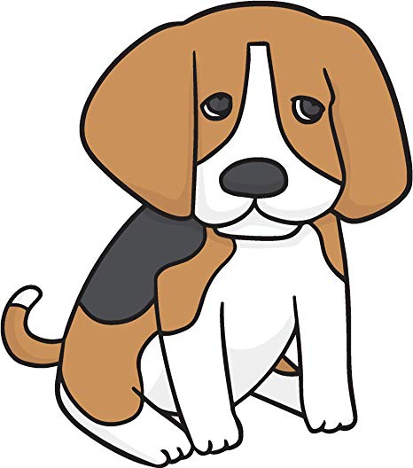 Amazon com cute adorable. Beagle clipart baby puppy