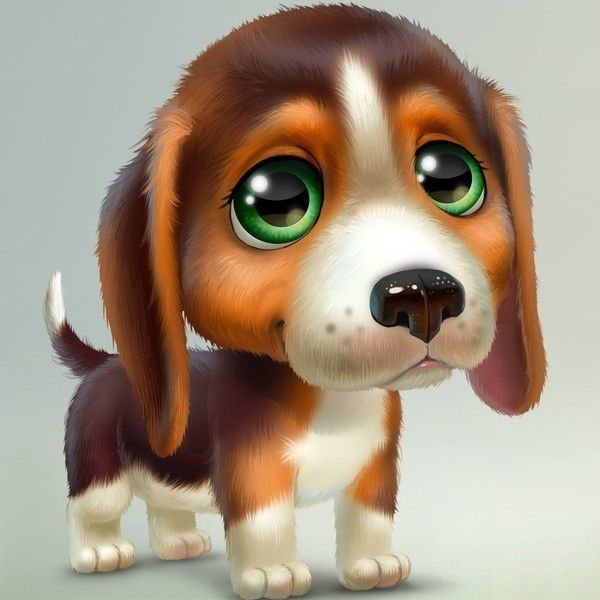 best dogs images. Beagle clipart baby puppy