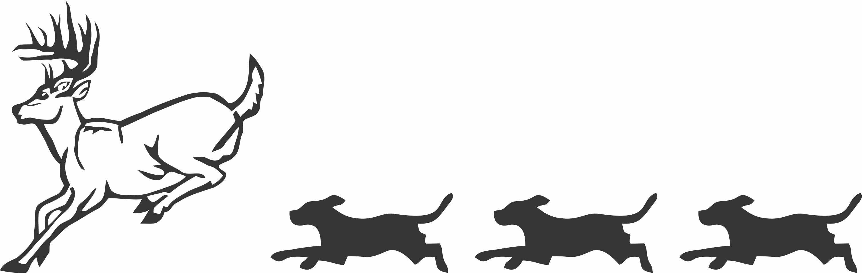 Beagle clipart beagle hunting. Free cliparts download clip