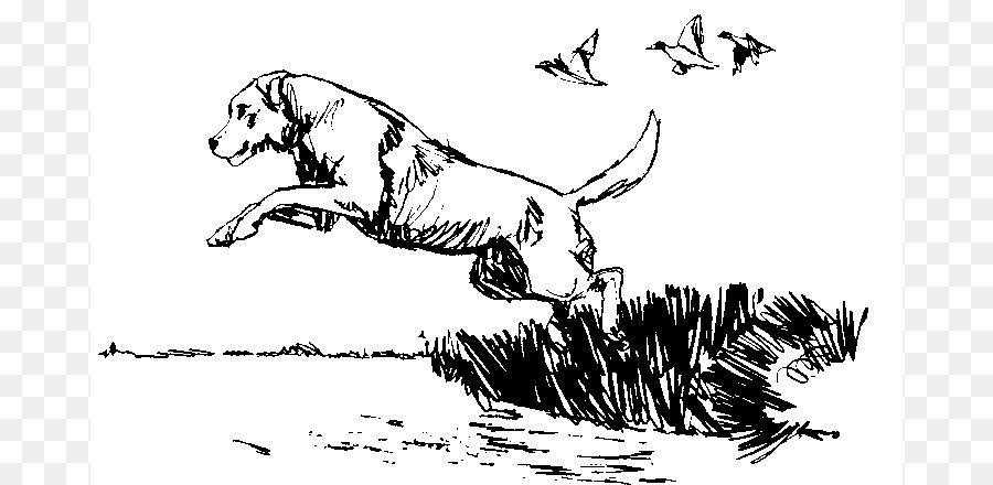 Dog bird clip art. Beagle clipart beagle hunting