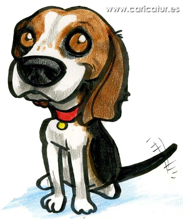Beagle clipart cartoon. Free of dog wagging